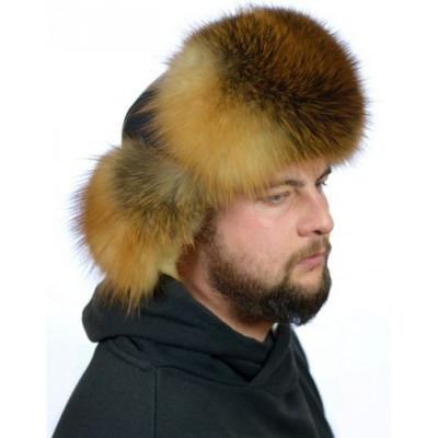 Мужская шапка из бобра AA-84