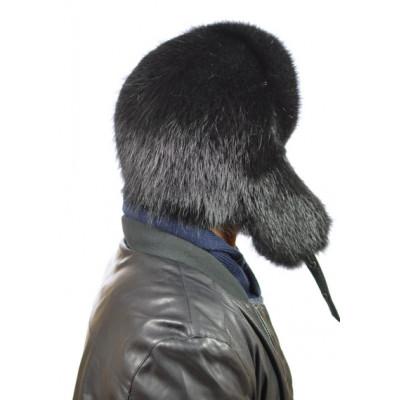 Мужская шапка из бобрового меха ВК-079