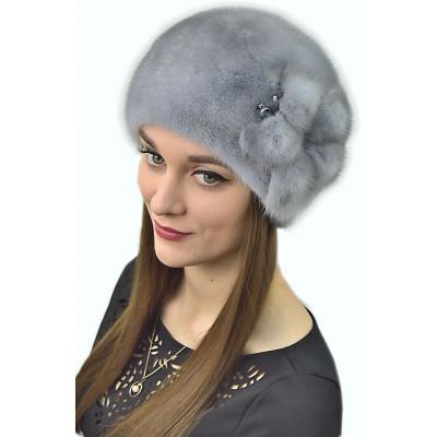 Женская шапка из норки НН 039