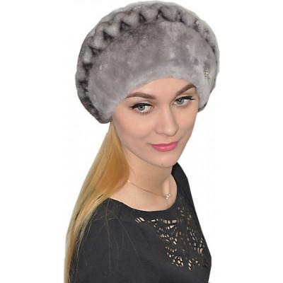 Женская шапка из мутона БМ 076а