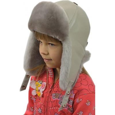 Детская меховая шапка ДВ 035