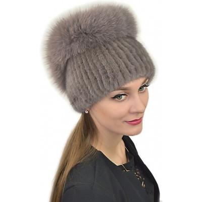 Зимняя шапка из норки НТ-047