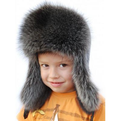 Детская меховая шапка ДМ 024