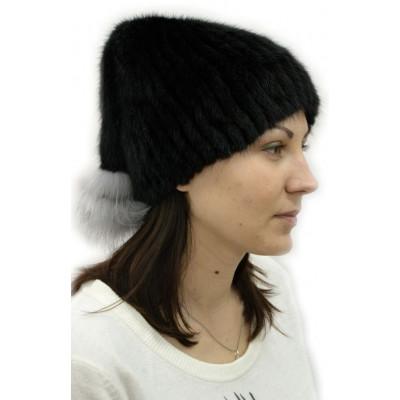 Женская меховая шапка КА 036