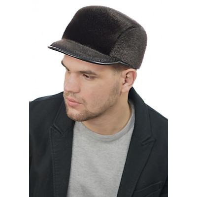 Мужская шапка из меха нерпы СН-028-М