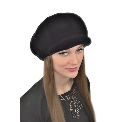 Женская шапка из кролика БК 047а