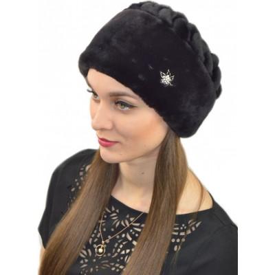 Женская меховая шапка Б 079а
