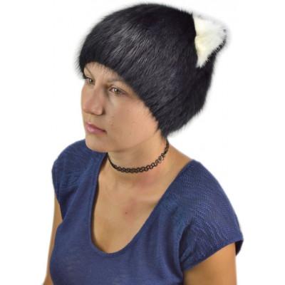 Женская меховая шапка КА 005