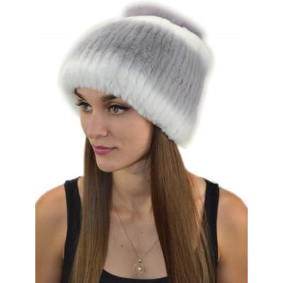 теплая зимняя шапочка Б-041