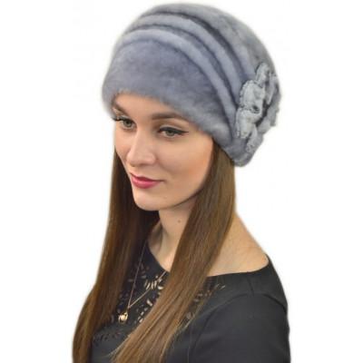 Женская зимняя шапка БМ 046а