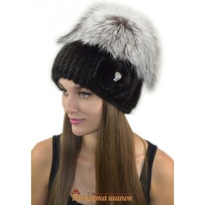 Женская меховая шапка АН-40