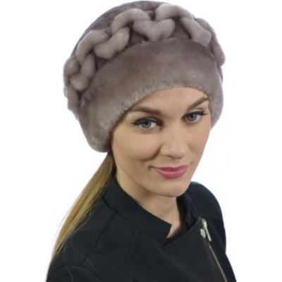 Женская меховая шапка БМ 084