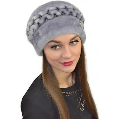 Женская меховая шапка БМ 051
