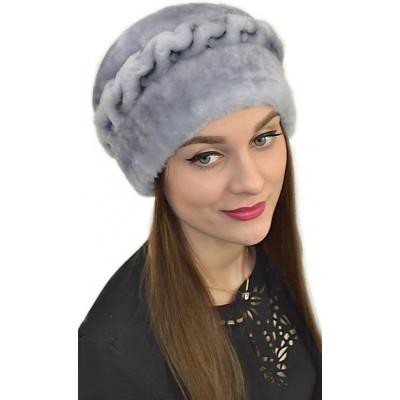 Женская меховая шапка БМ 069