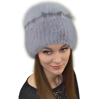 Тёплая зимняя шапка НТ 050