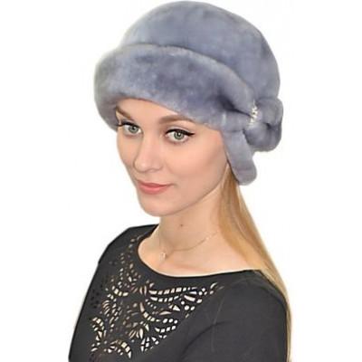 Женская шапка из мутона БМ 040а