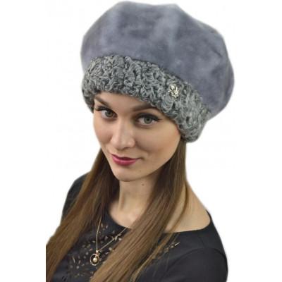 Женская меховая шапка БМ 082