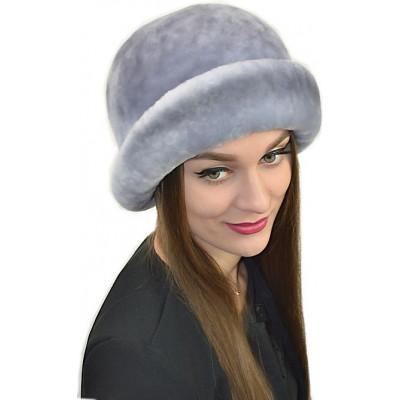 Женская шапка из мутона БМ 074а