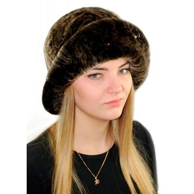 Женская шляпа из мутона БМ 030в