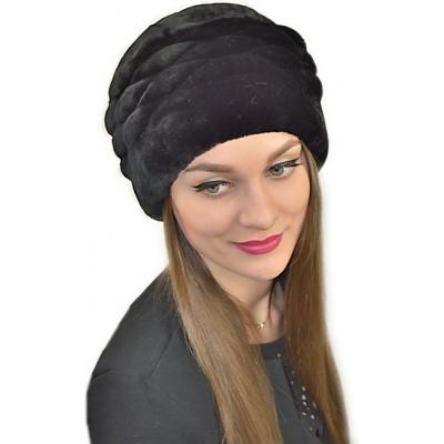 Женская шапка из мутона БМ 060а