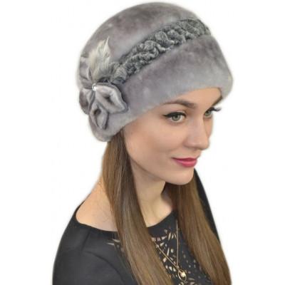 Женская меховая шапка БМ 071а