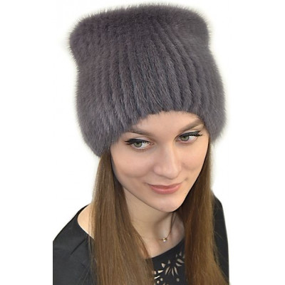 Норковая зимняя шапка НТ-051
