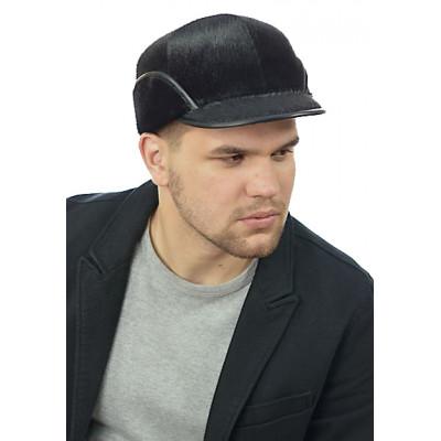 Мужская кепка из меха нерпы СН‑049‑М