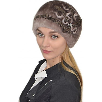 женская зимняя шапка БМ 060