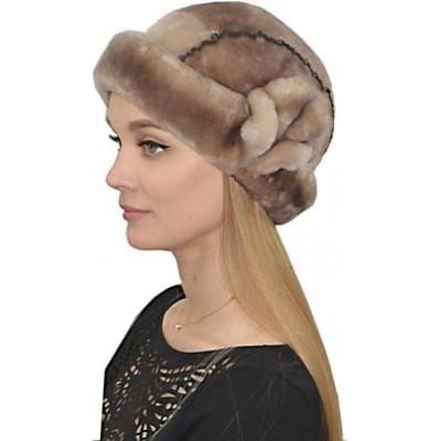 Женская шапка из мутона БМ 036