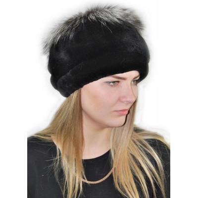 Женская зимняя  шапка БК 033
