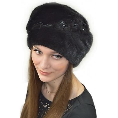 Модная норковая шапка НН 027