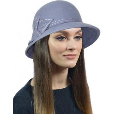 Шапка- шляпка из фетра ФТ-059