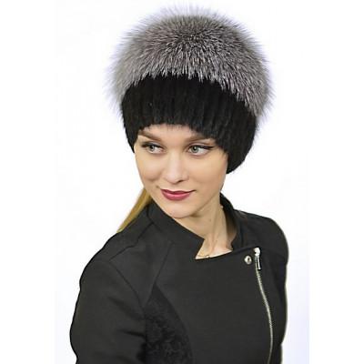 Женская меховая шапка КА 015