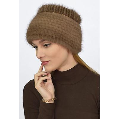 Меховая норковая шапка НТ 015