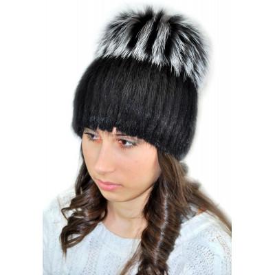 Женская зимняя шапка КА 040