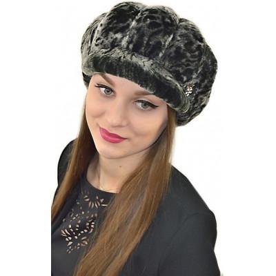 Женская шапка из мутона Б 083