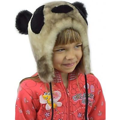 Детская мутоновая шапка ДВ 018