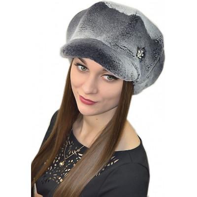 Женская меховая кепка БК 048