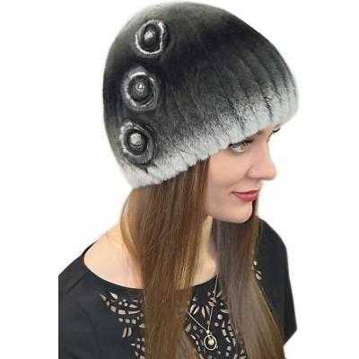 Женская шапка  из кролика БК 027