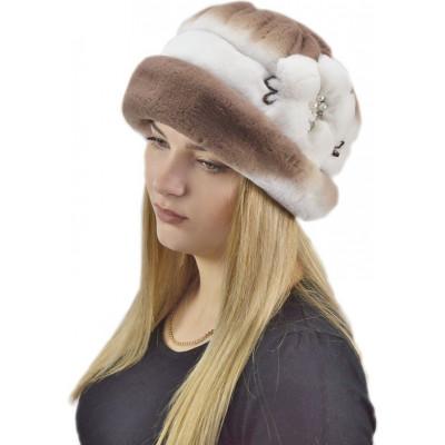Меховая шапка шляпа БК 036