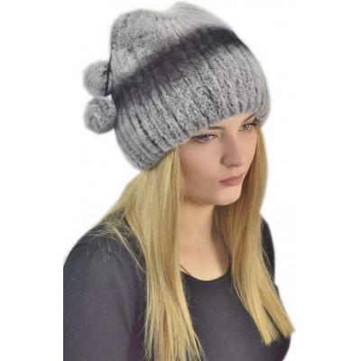 Женская меховая шапка КА 008