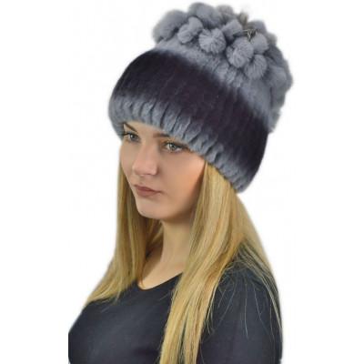 Меховая шапка КА 014