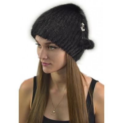 Зимняя меховая шапочка КА 038
