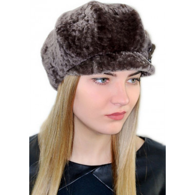 Женская меховая шапка МК 036