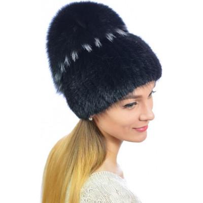 Модная меховая шапка КА 051
