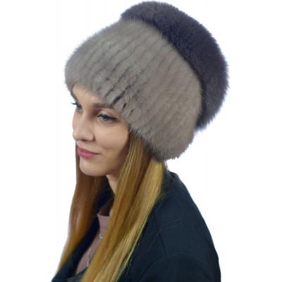 Женская меховая шапка КА 032