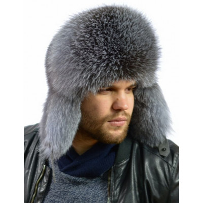Мужская шапка из меха норки ВК-093