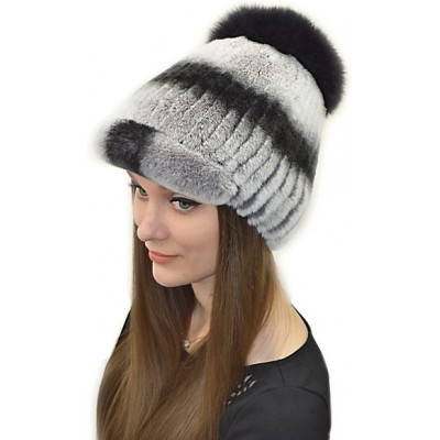 Женская шапка из кролика БК 021