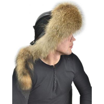 Мужская шапка из енота ВК 040