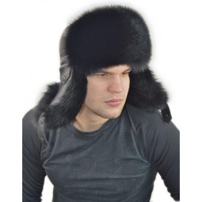 Мужская шапка из песца ПМ 009